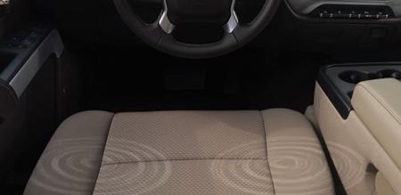 Chevrolet safety alert seat