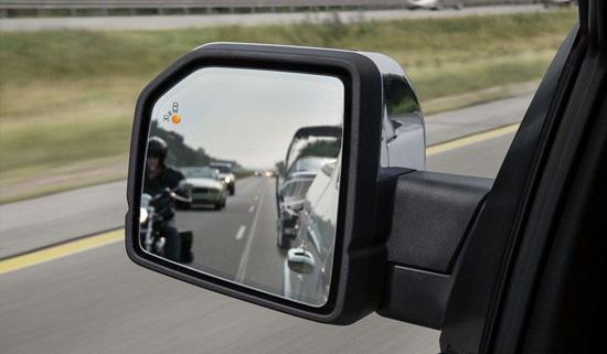 Ford Blind spot information system döda vinkeln varnare