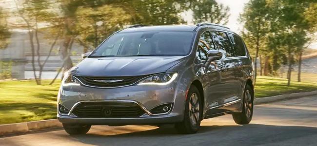 Chrysler Pacifica verkstad