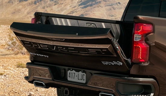 Chevrolet Silverado Durabed flak