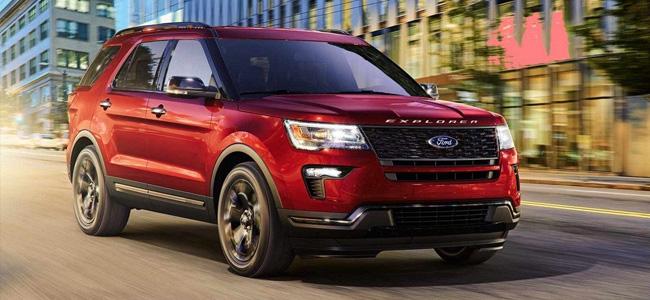 Ford Explorer verkstad