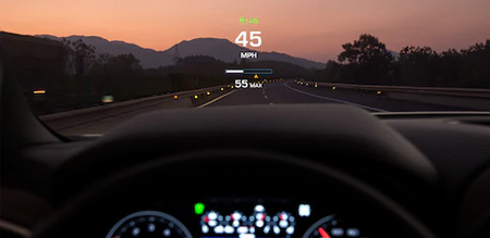silverado heads up display