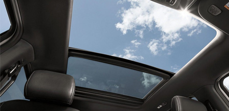 Ford twinpanel moonroof