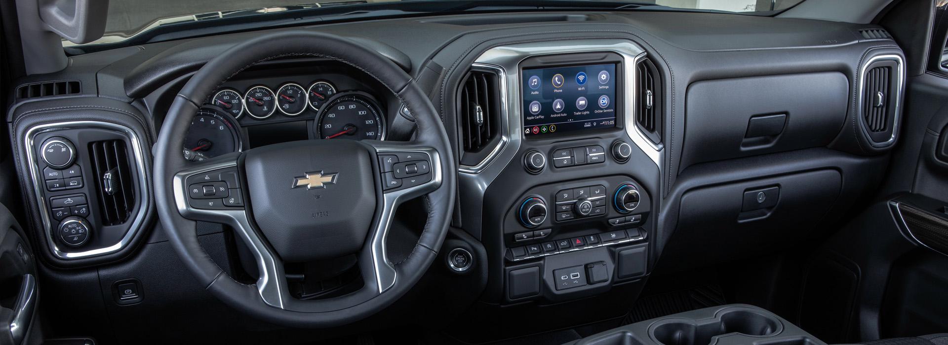 2019 Chevrolet Silverado interiör