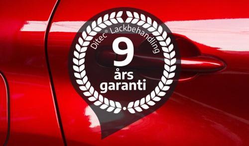 9 års garanti