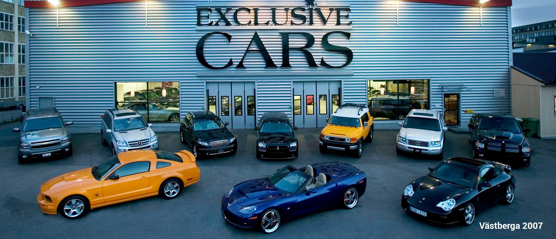Historia Exclusive Cars