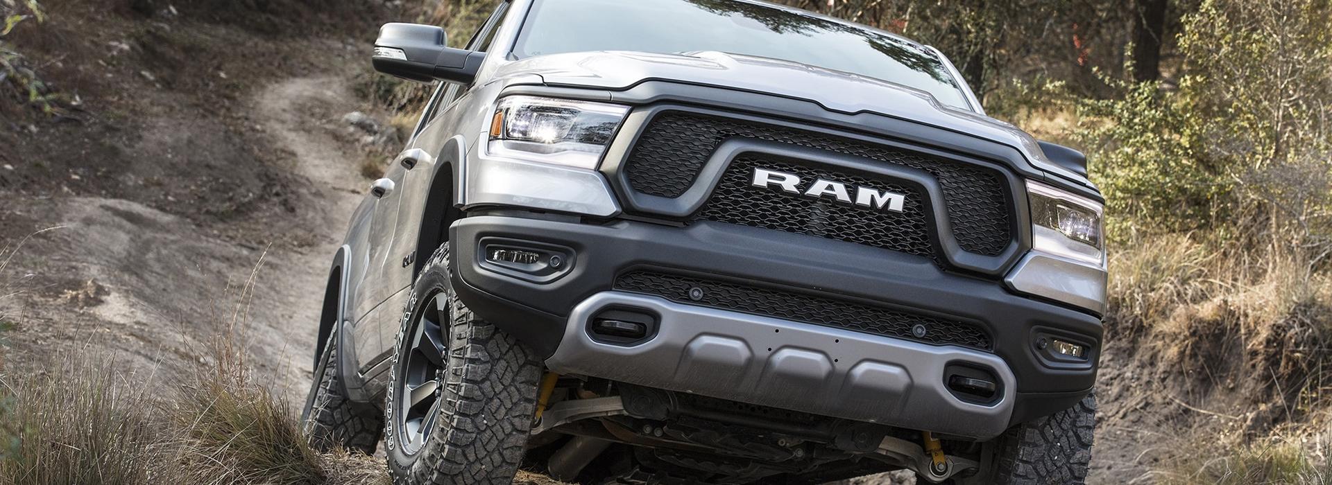 Ram 1500 Rebel offroad