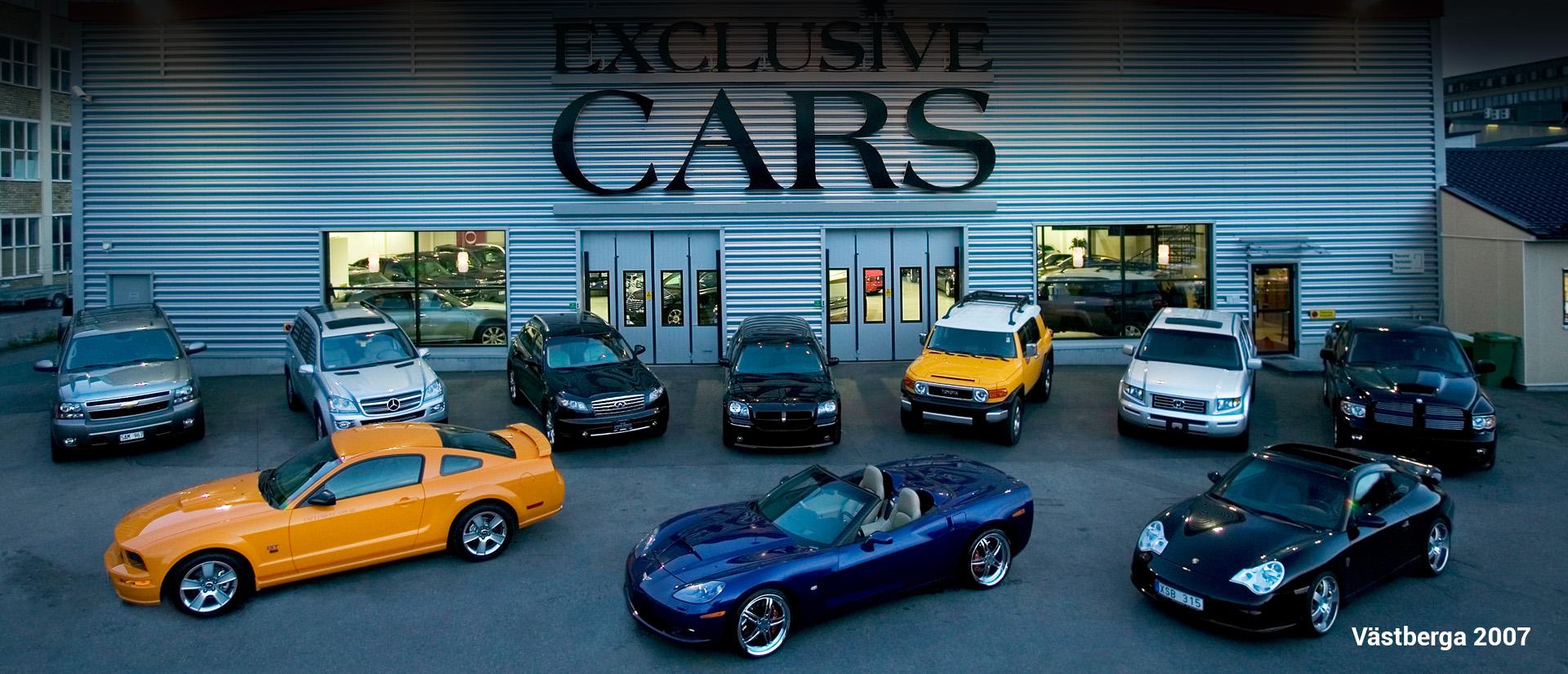 exclusive cars historik
