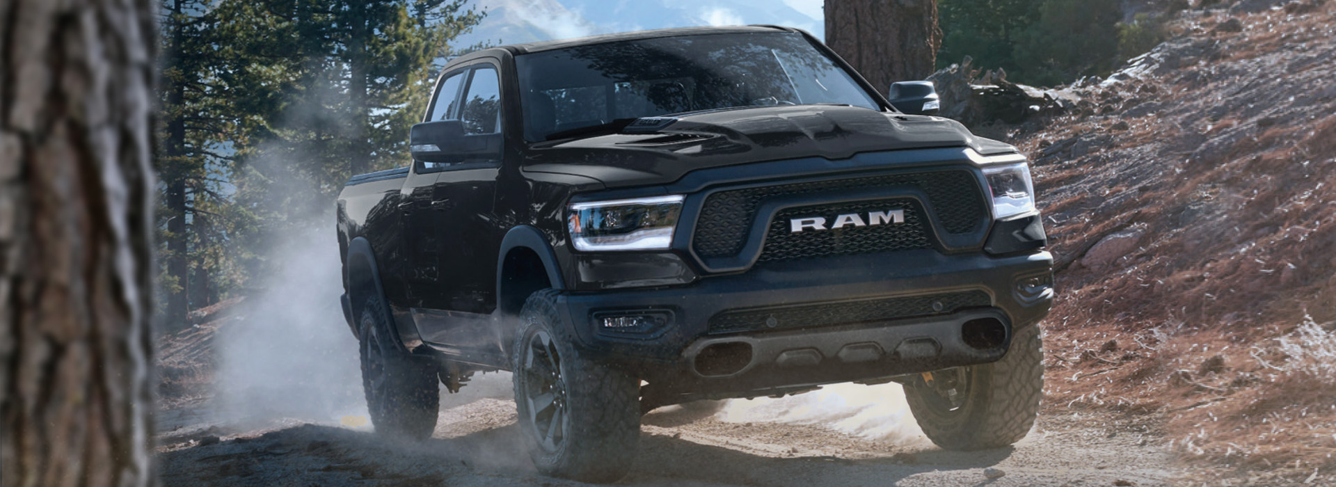 2020 Ram Rebel Black Appearance