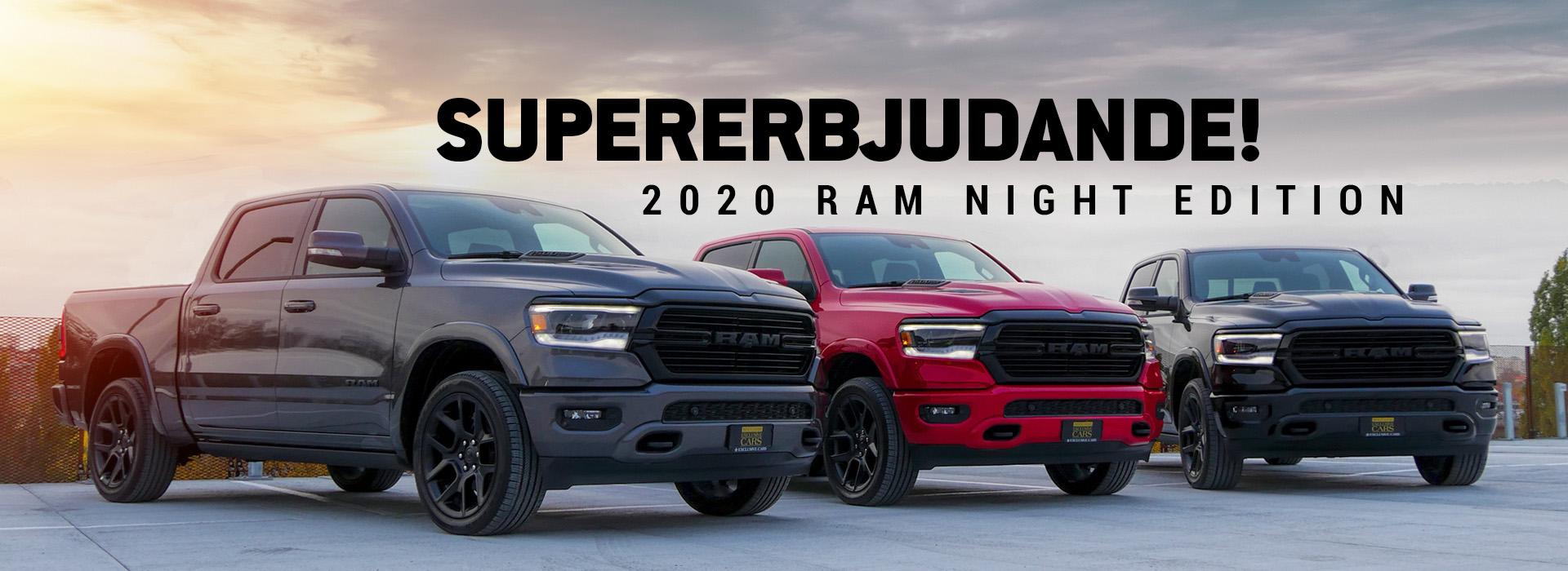 2020 Ram Night Edition
