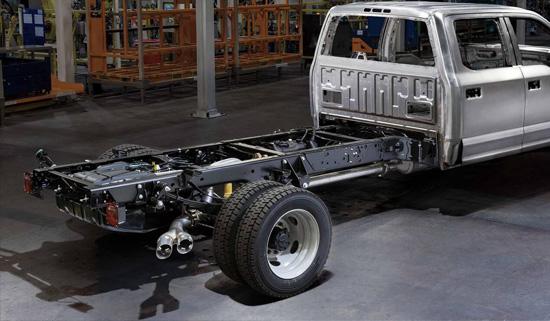 Ford F-250 F-350 aluminium