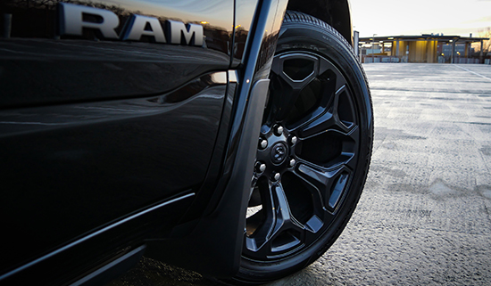 2020 Ram Limited Black Appearance