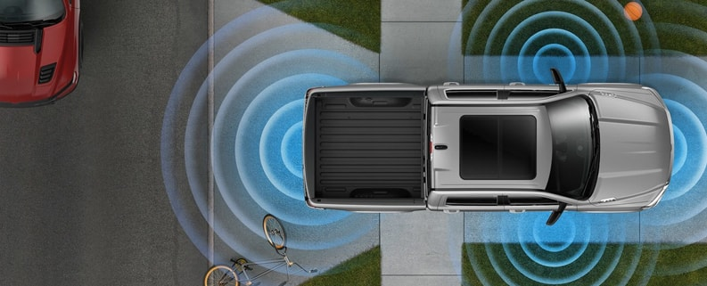 dodge ram 360 graders kamera