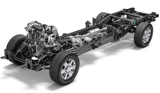 Chevrolet Silverado 2500HD drivlina ram