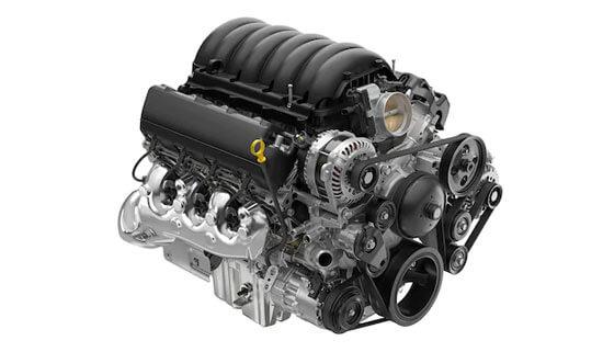 GMC Sierra Denali motor