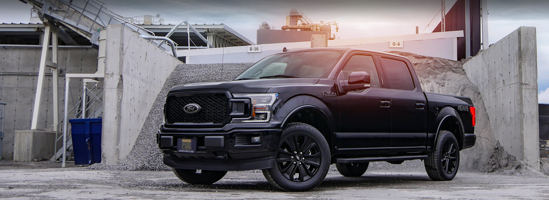 2020 Ford F-150 Black Appearance
