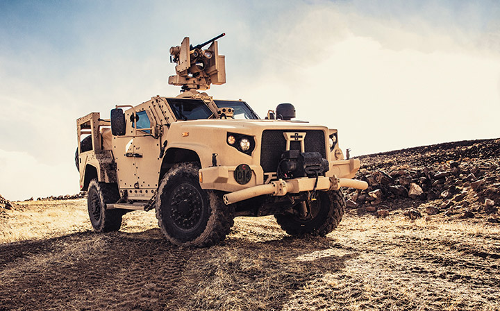 Oshkosh Defense Tactical Vehicle
