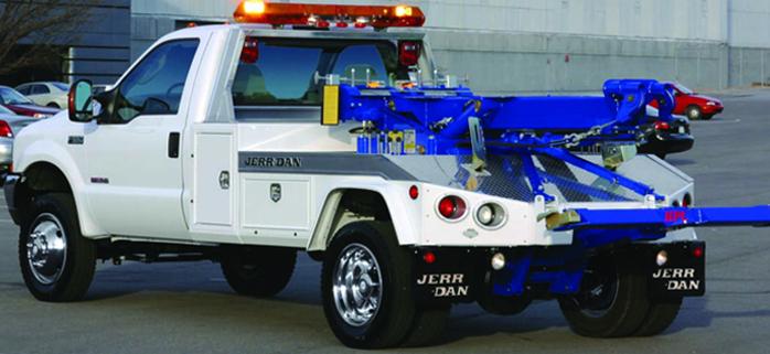 Jerrdan Överås Tow Trucks bärgning HPL35