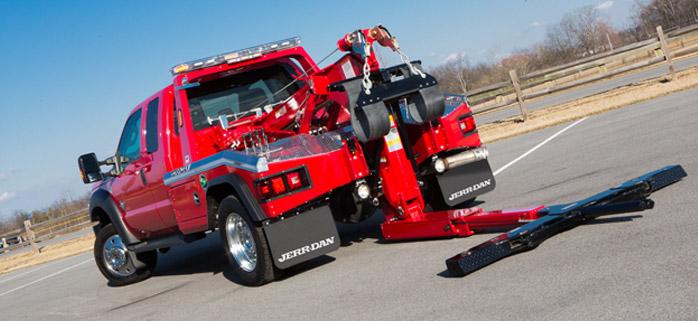 Jerrdan Överås Tow Trucks bärgning MPL 40