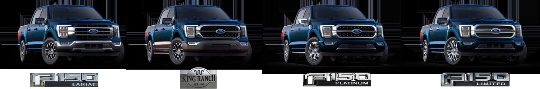 2021 Ford F-150 modeller