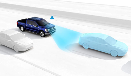 Ford pre collision warning