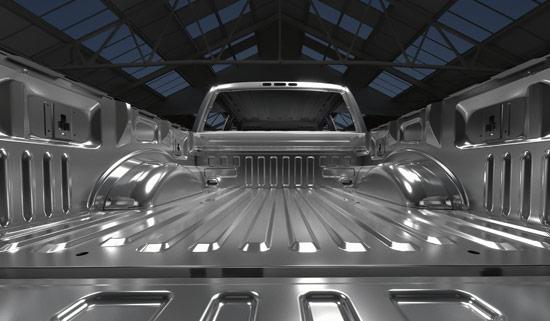 Ford F-150 Aluminumkaross