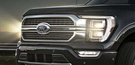 Ford F-150 strålkastare belysning