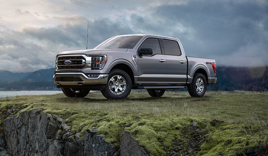 Ford F-150 offroad