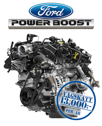 2021 Ford Powerboost V6 hybrid