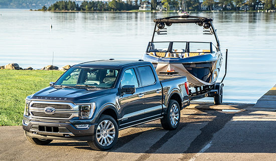 2021 Ford F-150 Pro Trailer Backup System