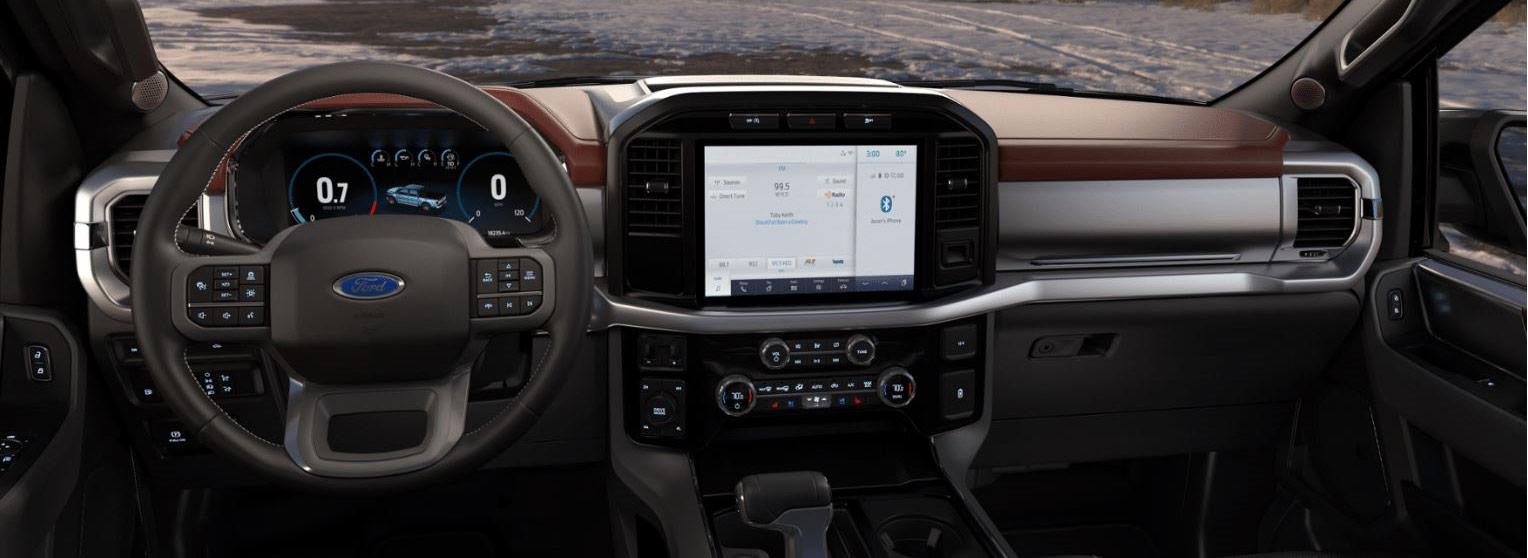 2021 Ford F-150 Lariat interiör