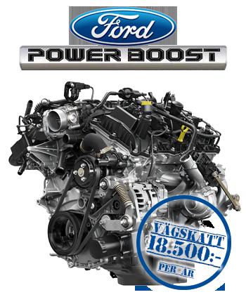 2021 Ford Powerboost V6 hybrid