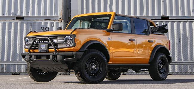 2021 Ford Bronco Black Diamond Badlands